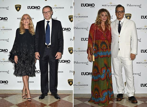 Franca Sozzani;Stefano Domenicali